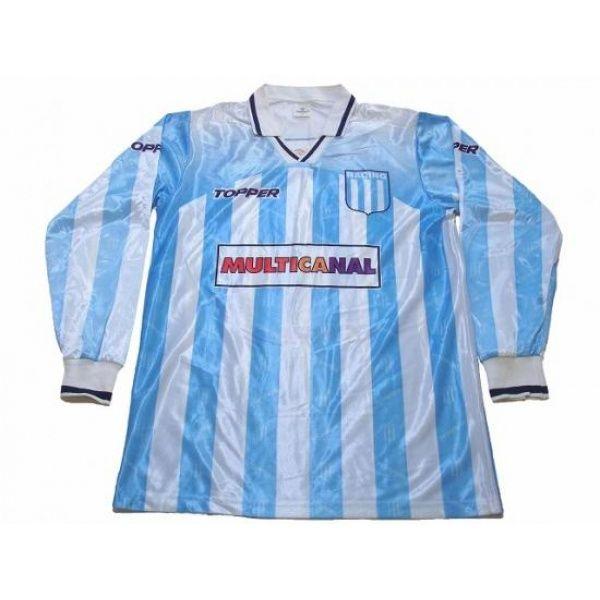 eb0a4b1be Photo1  Racing Club 1996 Home L S Shirt TOPPER - Football Shirts
