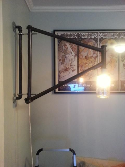 Bike Wall Lamp - Imgur | Jeremy\'s room | Jeremy\'s room by Anna ...