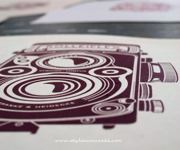 ROLLEIFLEX Camera Print