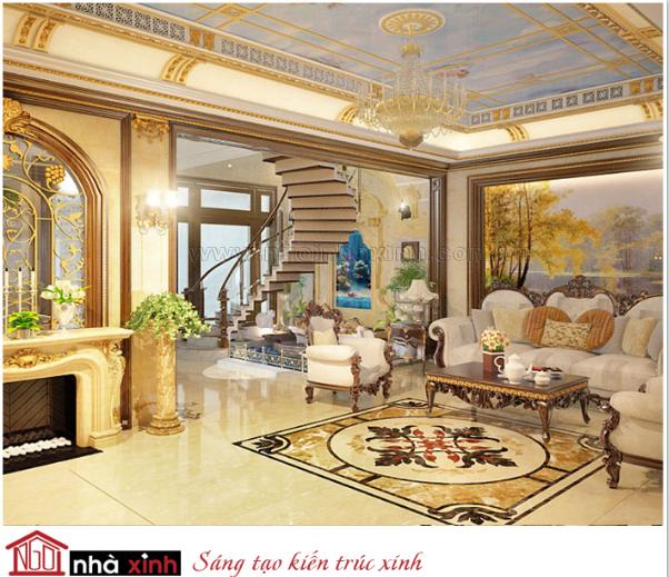 nội thất đẹp biệt thự cổ điển