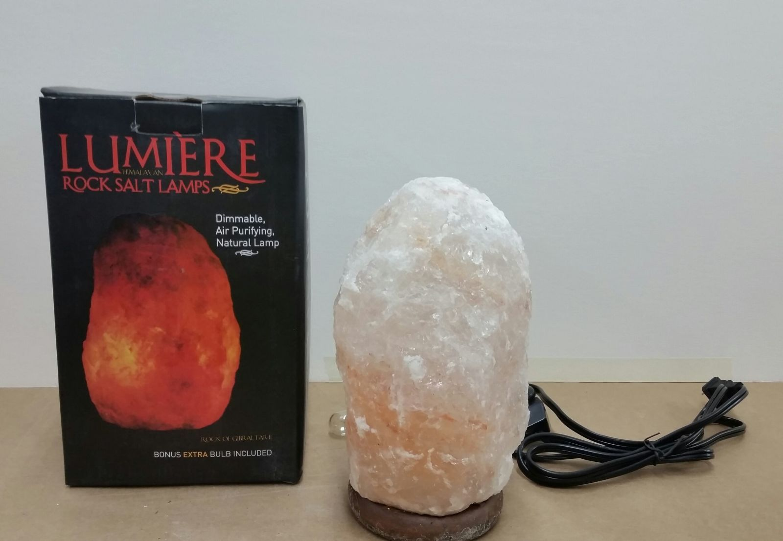 Lumiere Salt Lamp Himalayan Rock Salt Lamps Recalled For Fire Electric Shock Risks