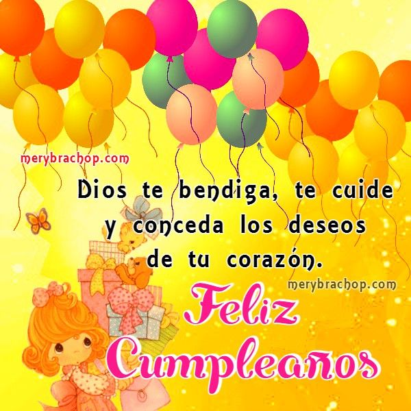 frases cristianas cumpleanos amiga hija hermana hb Pinterest Frases, Tes and Dios