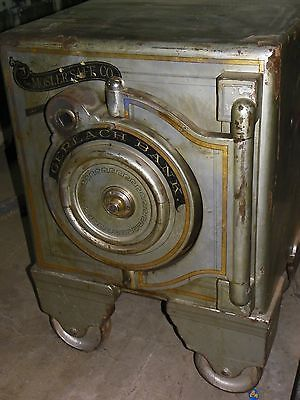 Mosler Manganese Safe Antique Safe Safe Vault Safe Lock