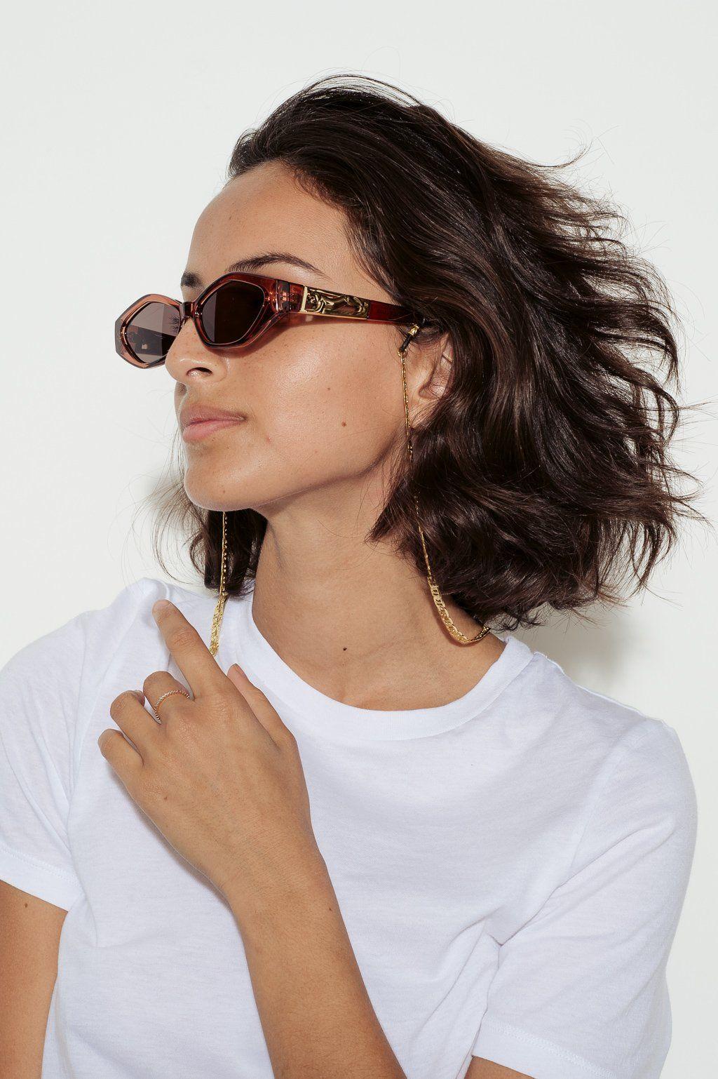 0aca55095c9 Jordan Askill X Le Specs Petit Panthère Micro Cat-Eye Sunglasses ...