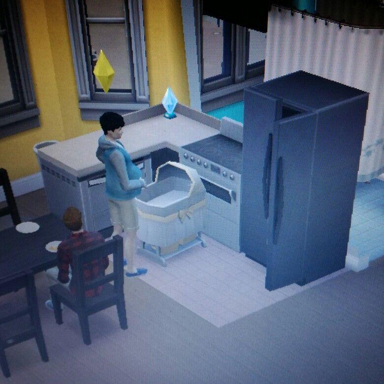 Finally Got A Pregnant Haru All Those Mpreg Dreams Coming True All Thanks To Sims 4 Loft Bed Home Decor Home