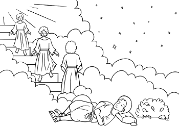 The Creation | Sunday school coloring pages, Creation coloring ... | 247x350