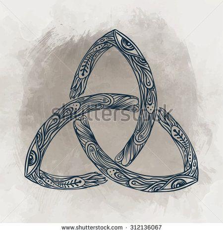 Triquetra Celtic Body Mind And Spirit Symbol Trinity Knot