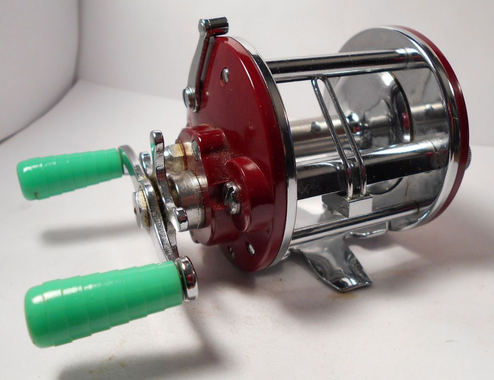 Vintage penn peer 109 levelwind saltwater conventional for Penn deep sea fishing reels