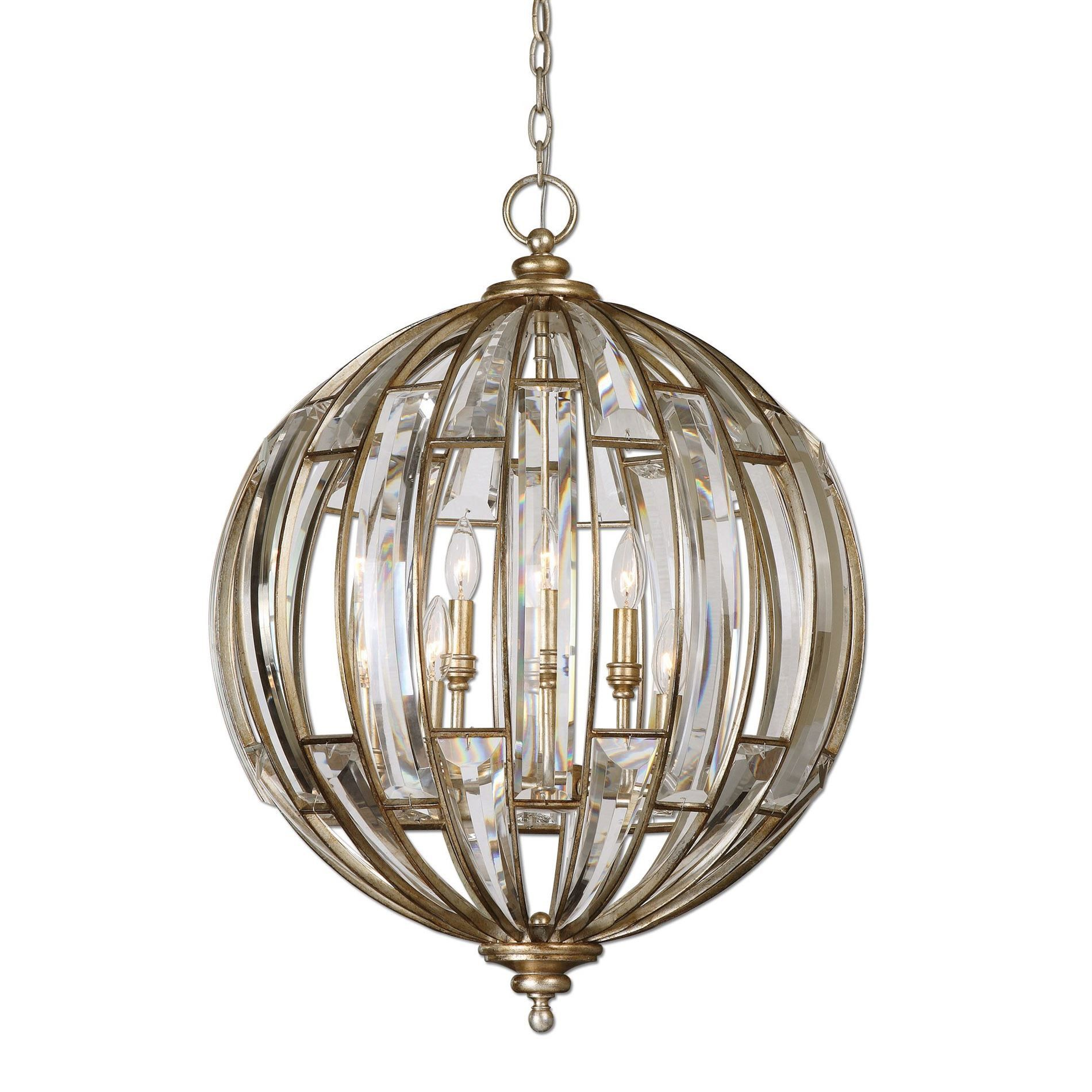 Vicentina 6 light sphere pendant by uttermost pendants and lights vicentina 6 light sphere pendant by uttermost mozeypictures Image collections