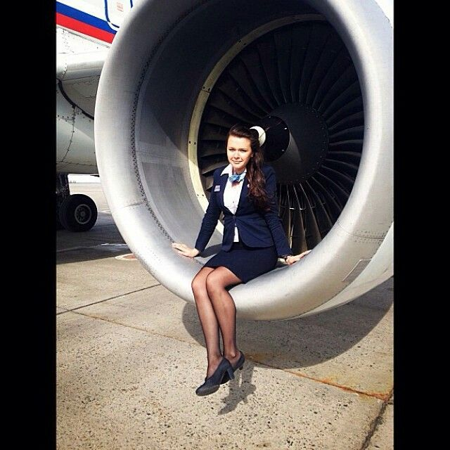 Rossiya Airlines Stewardess @topstewardess