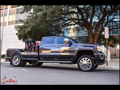 Welding Rig Set Up With Custom Bed On A 2015 Gmc Denali On