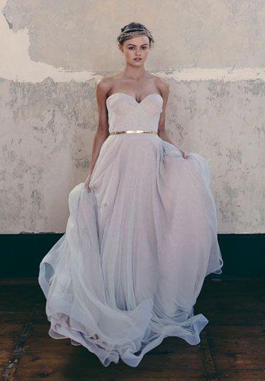 Blush Wedding Gown Blush Wedding Gown Unconventional Wedding Dress Colored Wedding Dress