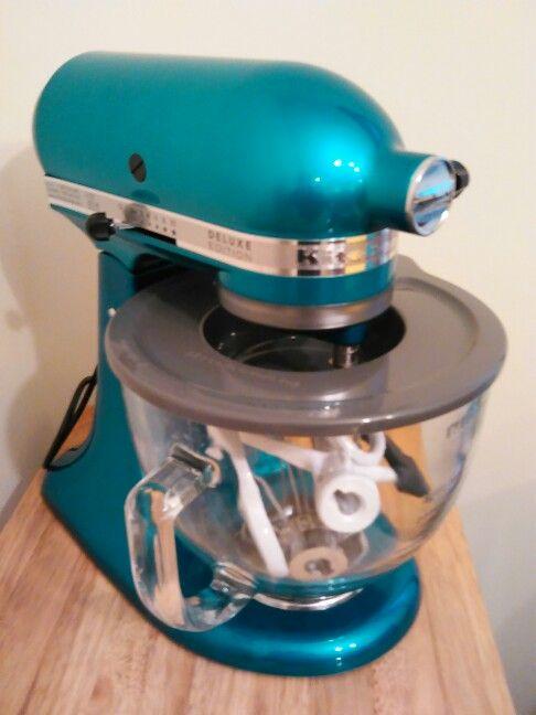 Kitchenaid Mixer In Seagl Color