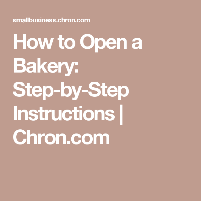 How Much Money Do You Need To Open A Bakery