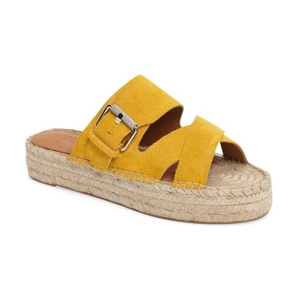 Women's Marc Fisher Ltd Venita Espadrille Sandal ($150) ❤ liked on Polyvore  featuring shoes