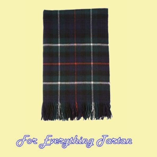 MacKenzie Modern Luxury Tartan Cashmere Blanket Throw