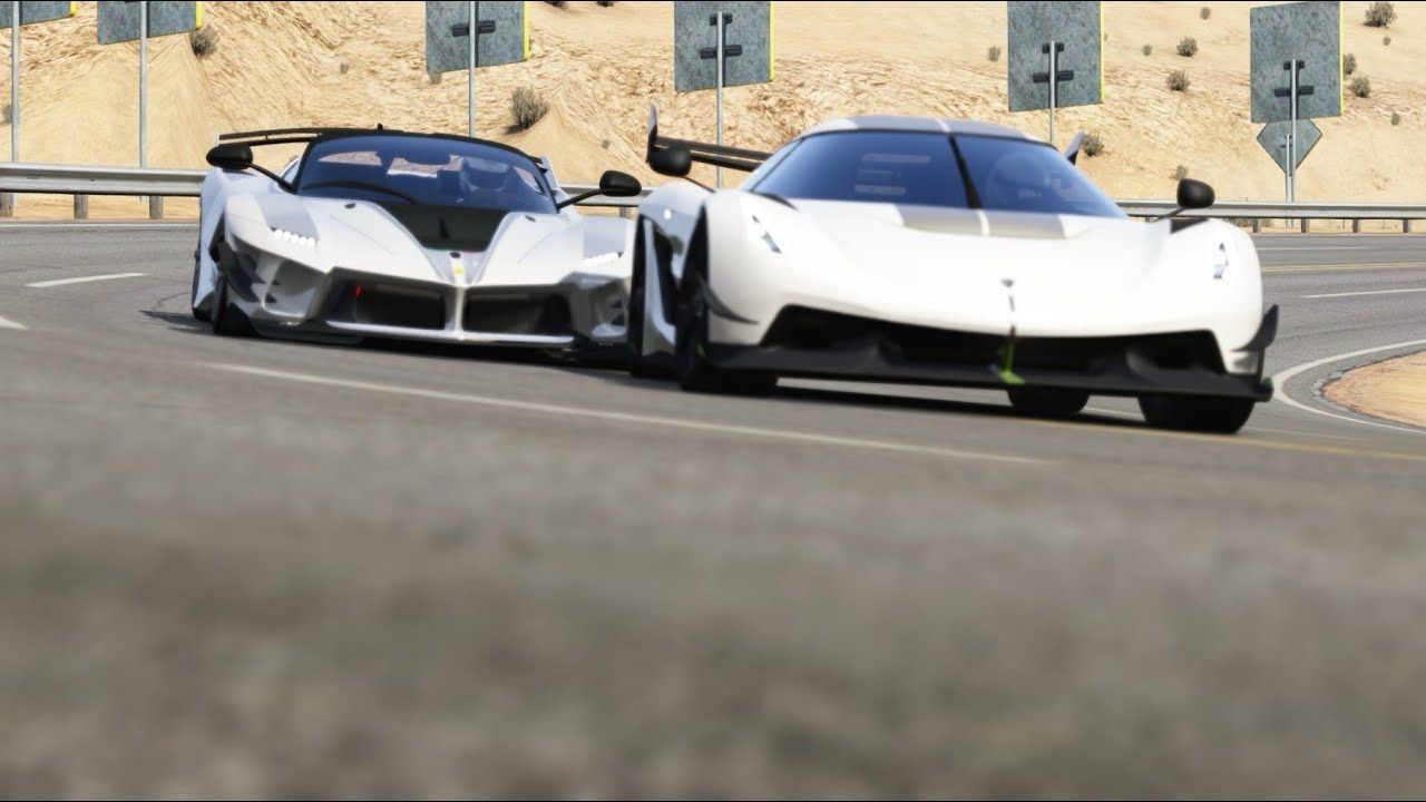 Koenigsegg Jesko vs Ferrari FXX K Evo at Black Cat Country