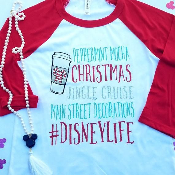 disney shirt disney christmas shirts disney raglan christmas - Disney Christmas Shirts