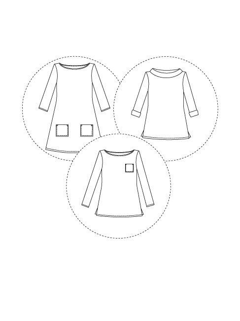 Coco top + dress | Sewing patterns, Patterns and Sewing accessories