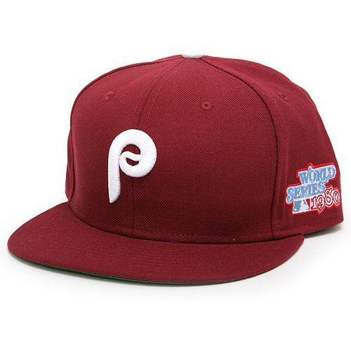 Philadelphia Phillies Authentic Cooperstown Collection Cap W 1980 World Series Logo Mlb Com Shop Phillies Major League Baseball Mlb Baseball