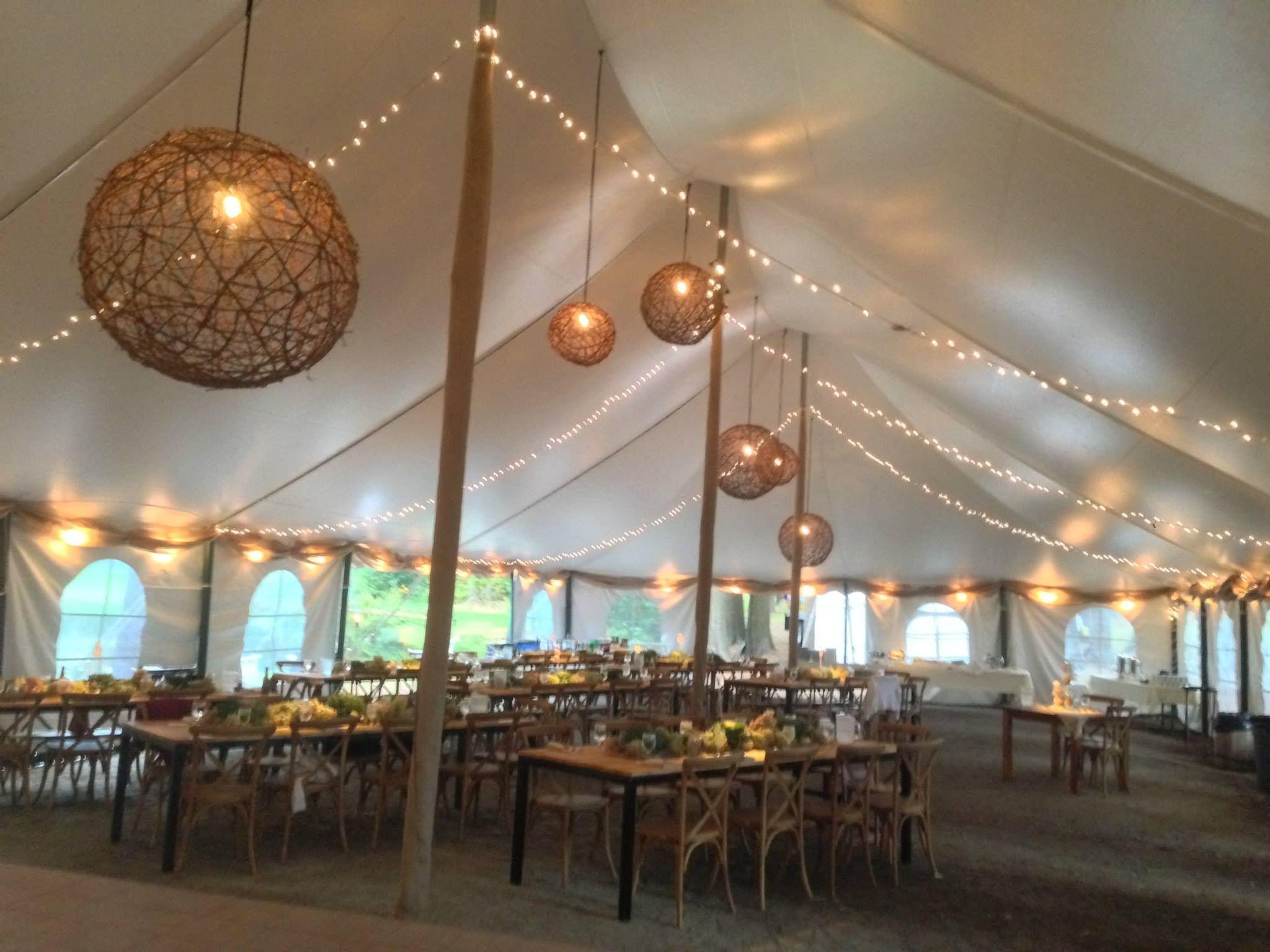 Smolak Farms Wedding Grapevine Spheres New England