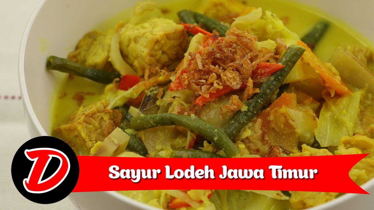 Resep Sayur Lodeh Jawa Timur Youtube Cooking Recipes Recipes Food