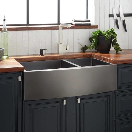 Signature Hardware 944657 33 In 2019 Farmhouse Sink Kitchen