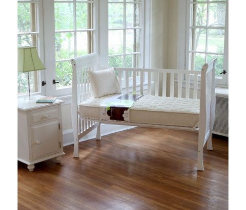 QUILTED ORGANIC BABY 2 IN 1 ULTRA BED AND MATTRESS (252 COILS) - Bluebird Baby Organics