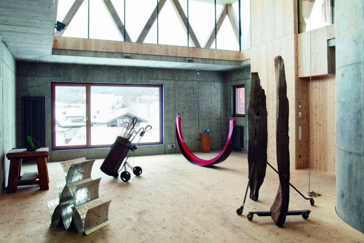 künstlerwerkstatt | modus architects ©niccolo morgan, gandolfi, Innenarchitektur ideen