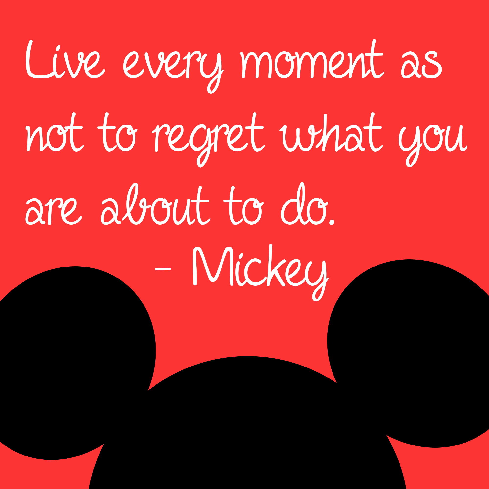 Mickey mouse … | Mickey mouse quotes, Disney quotes, Quotes