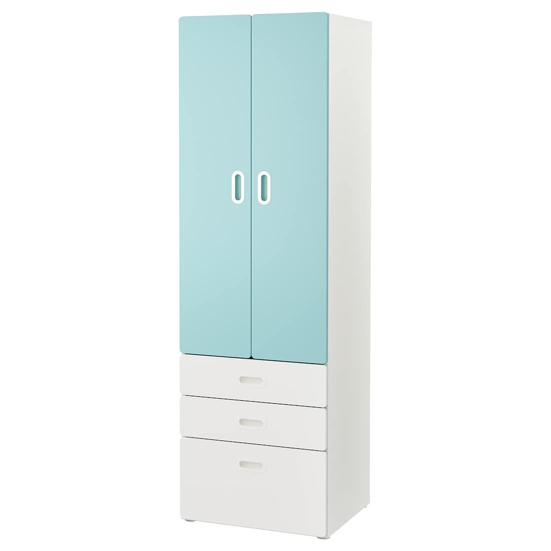 Stuva Fritids Wardrobe White Light Blue 23 5 8x19 5 8x75 5 8 Learn More Ikea Ikea Stuva Ikea Storage