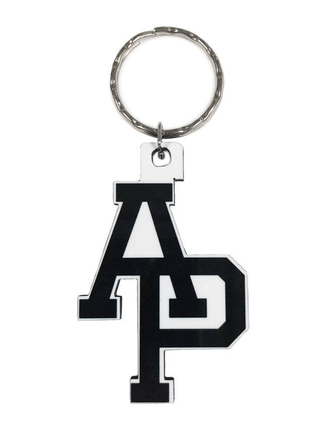 A P Logo Keychain University Bookstore Apu Accessories