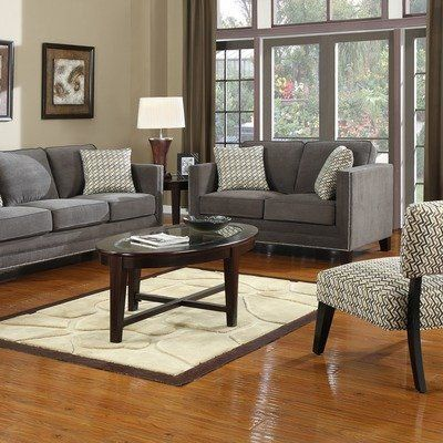 Carlton Fabric Living Room Collection By Emerald Home Furnishings