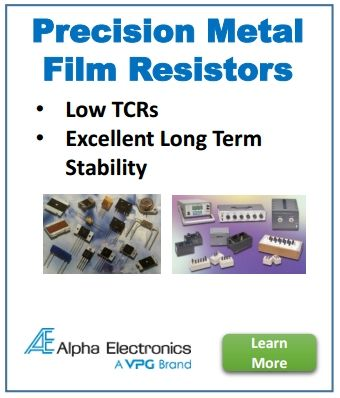 Alpha Electronics A Vishay Precision Group Inc Vpg Brand Utilizes Bulk Metal Foil Technology To Produce The Most Precise An Electronics E Learning Alpha