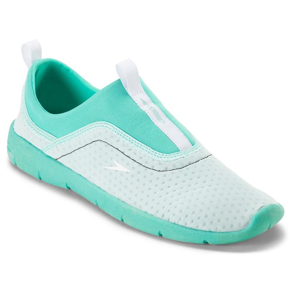 59d53b7c922b Speedo Adult Women s Aqua (Blue)skimmer Water Shoes - Aqua (Medium ...