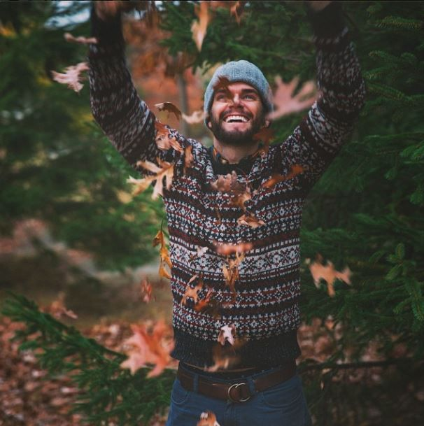Keil James Patrick (@KJP Instagram) wears L.L.Bean Signature Fair ...