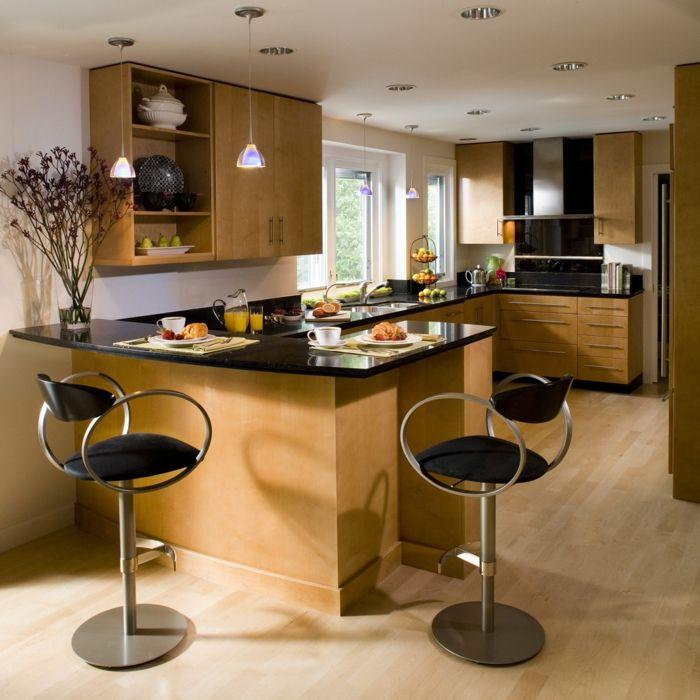 Barhocker für Küche - Gestalten Sie den Bereich um die Kücheninsel ...