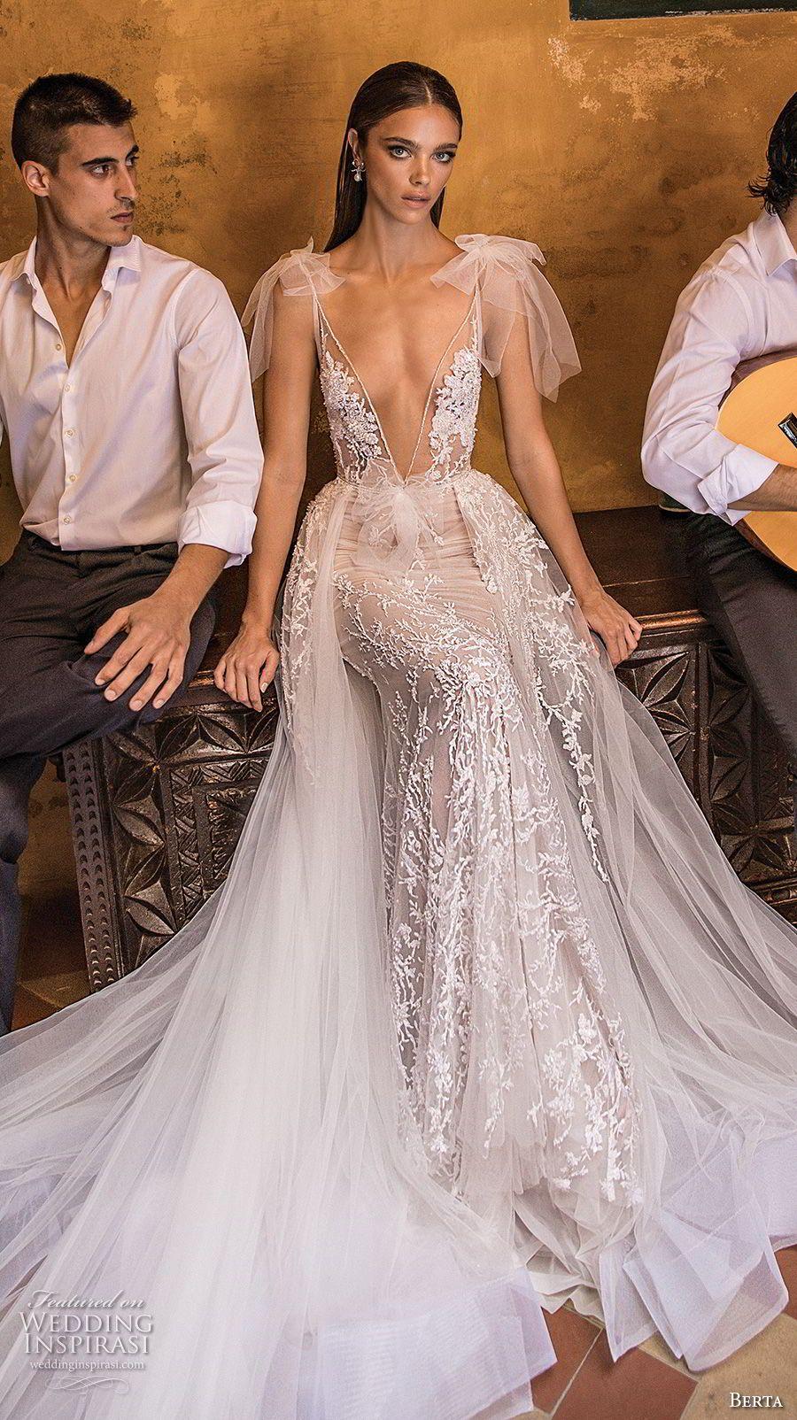 Berta Fall 2018 Wedding Dresses Wedding Inspirasi Long Train Wedding Dress A Line Wedding Dress Wedding Dresses