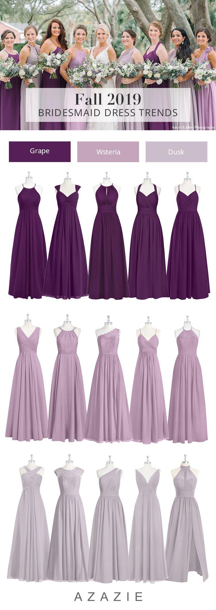 Azazie Purple Wedding Colors Purple Wedding Dress Purple Bridesmaid Dresses Wedding Colors Purple [ 2122 x 752 Pixel ]