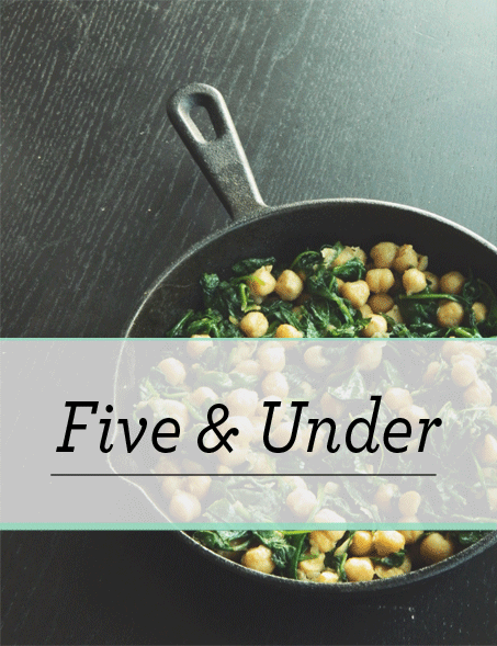 Introducing five under easy vegan recipes all five ingredients introducing five under easy vegan recipes all five ingredients and or less forumfinder Gallery
