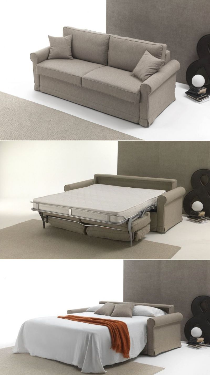 Meda Sofa Bed By Santambrogio Salotti Is Ideal For Small