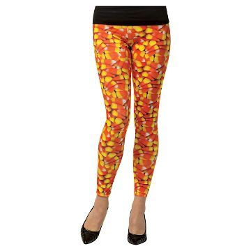 72f2ed3fe46ff Women's Candy Corn Leggings - target - $14.99 | Costumes | Candy ...