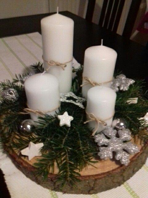 72 Trend Simple Rustic Winter Christmas Herzstück