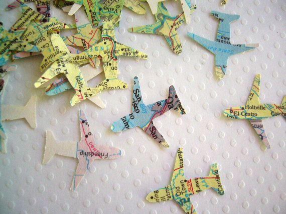 cartes, avion
