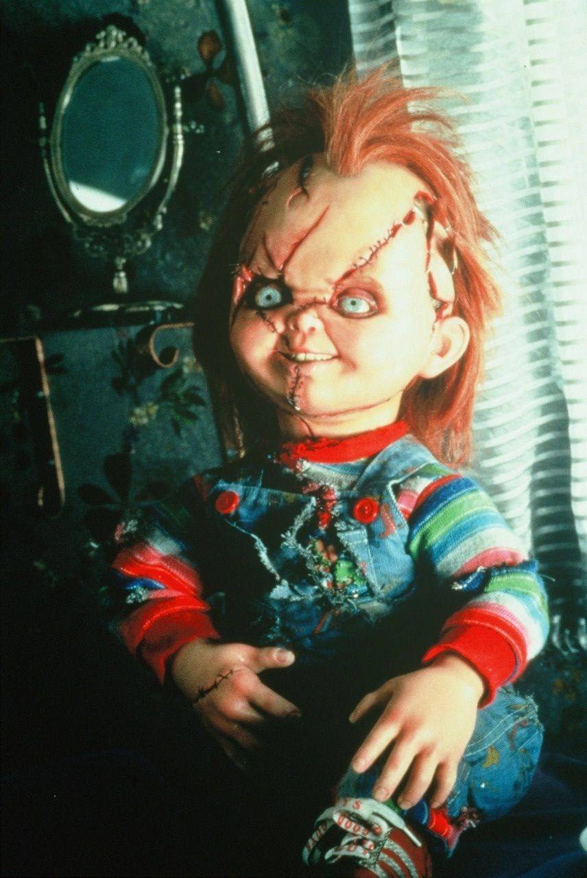 Chucky thanks to him any doll that talked freaked me out