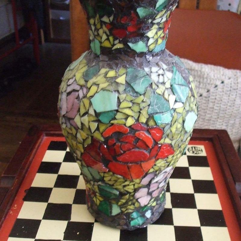 Hometalk :: Mosaic Vase