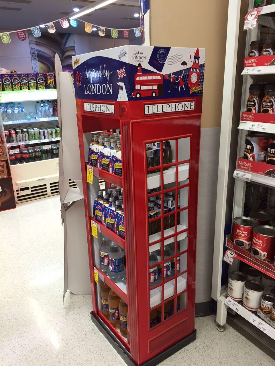 Schweppes Coles Grocery Beverages Softdrink Onpack Inspiredbylondon Offlocation Crosscategory Oct2015