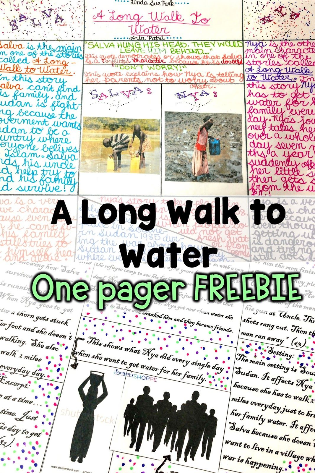 How To Teach A Novel Study Unit On A Long Walk To Water