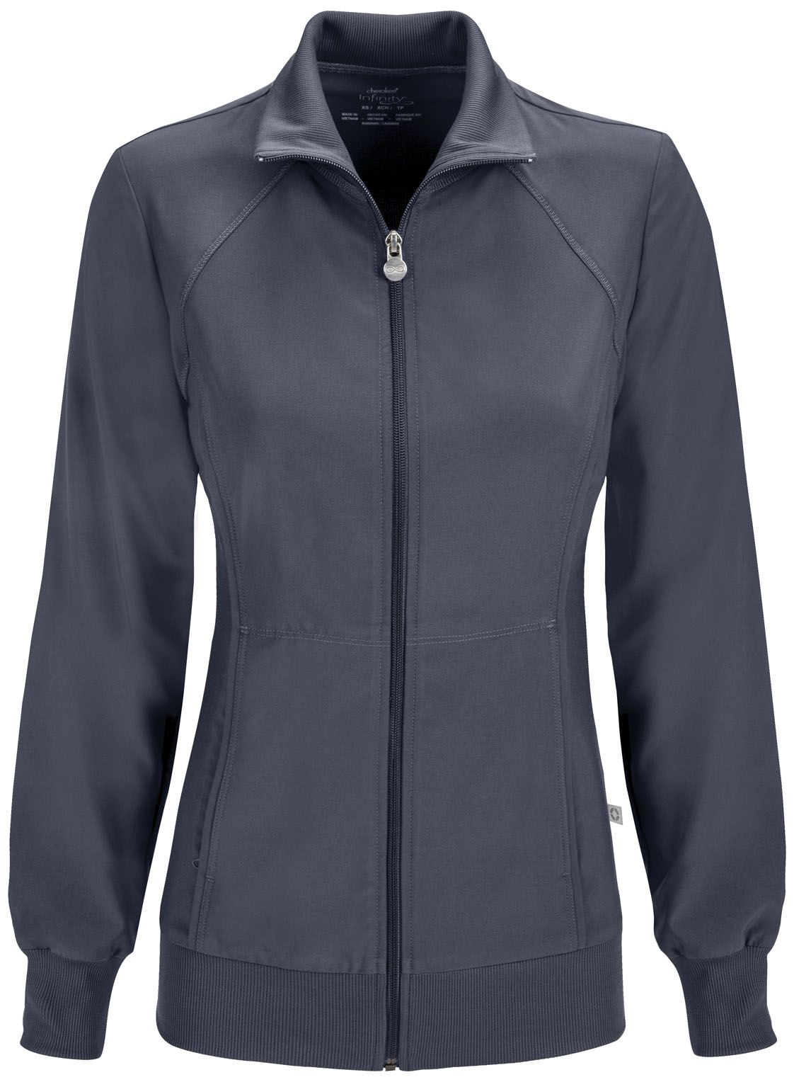 Cherokee For Less >> Infinity By Cherokee Zip Front Warm Up Jacket Cherokee 4 Less
