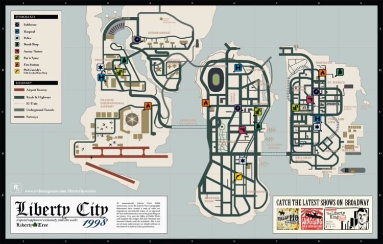 Pin by Pughze on Grand Theft Auto | Rockstar games, Map, Gta 5
